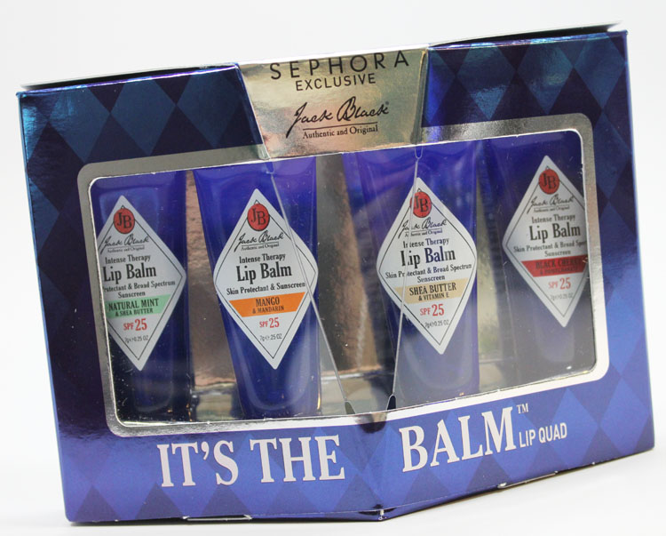 Jack Black It's The Balm Lip Quad