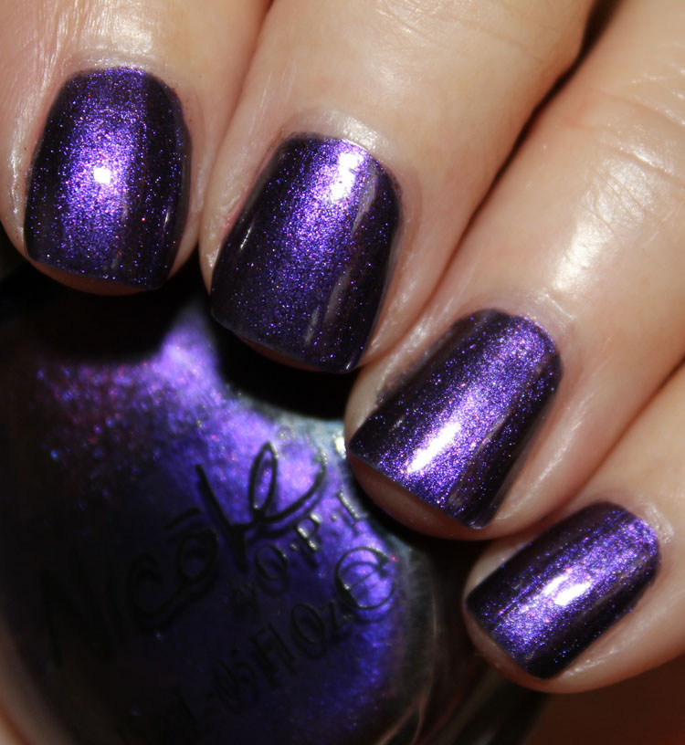 Nicole by OPI Aren't Families Grape?