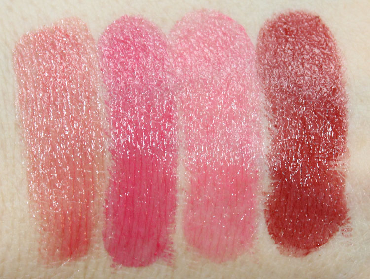 MAC Huggable Lipcolour Swatches