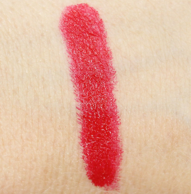 MAC Red Swatch