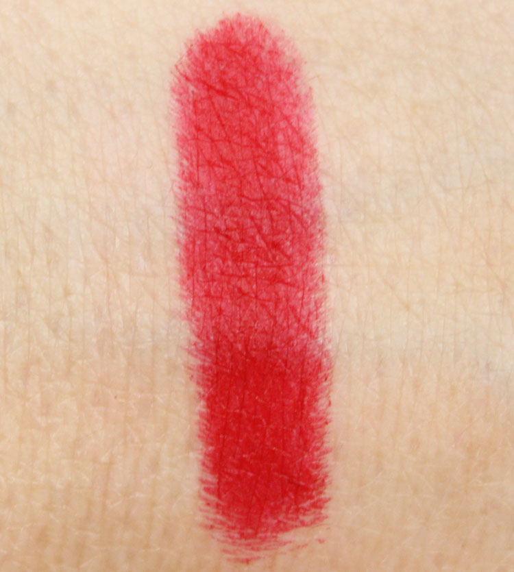 MAC Ruby Woo Lipstick Swatch