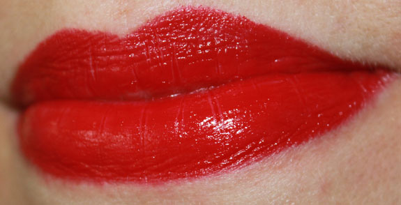 Milani Color Statement Lipstick Red Label Lip Swatch