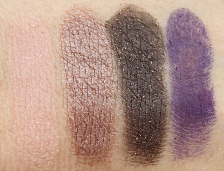 NARS Loves Miami Eye and Cheek Palette Swatches