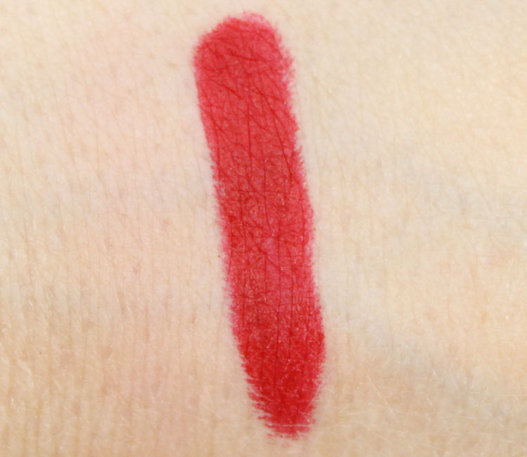 NARS Mysterious Red Swatch