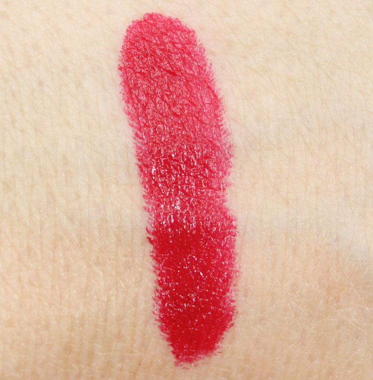 NYX Chic Red Swatch