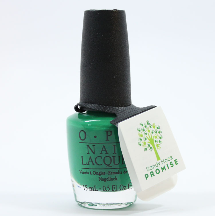 OPI Nail Lacquer Sandy Hook Green