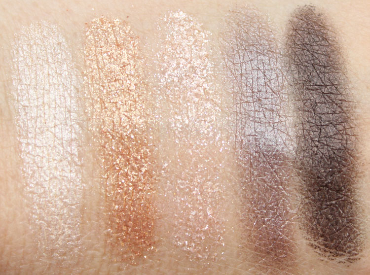 RiRi Hearts MAC Veluxe Pearlfusion Shadow Phresh Out Swatches
