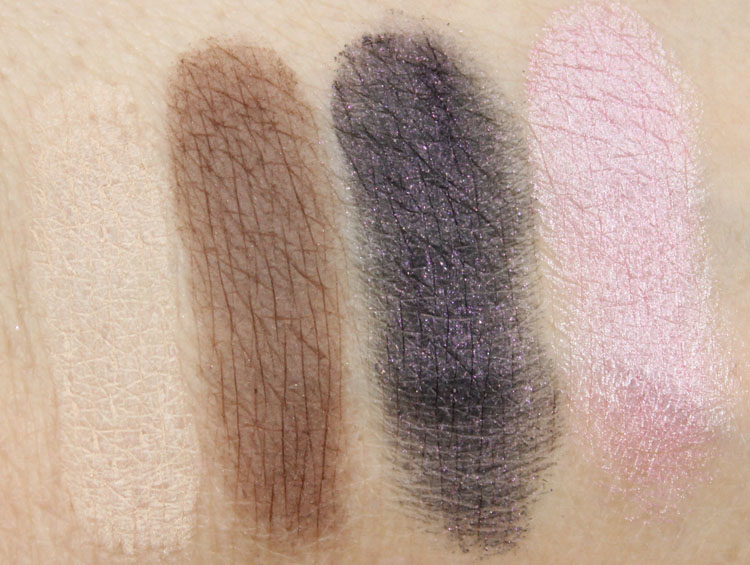Too Faced Candy Bar Swatches
