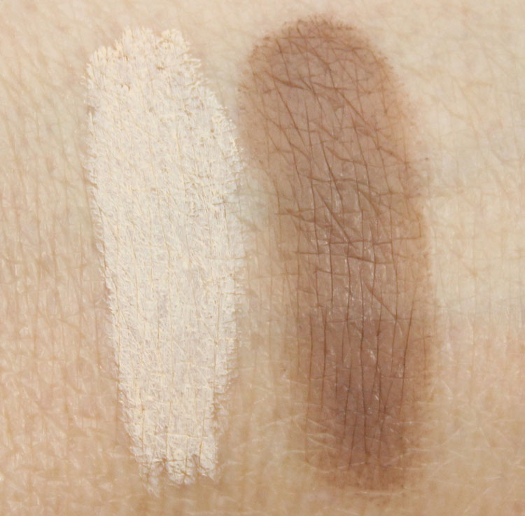 Too Faced Instant Attitude Brow Lift, Universal Taupe Swatches