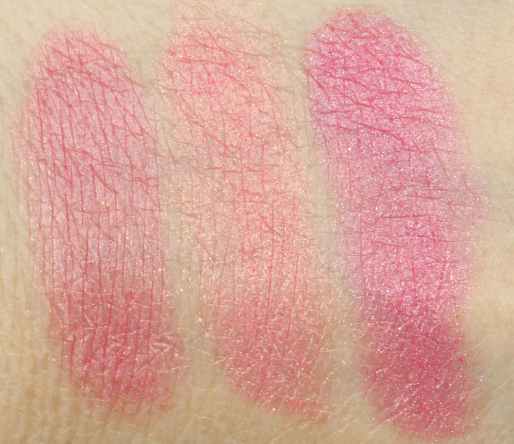 Too Faced Something About Berry Swatches