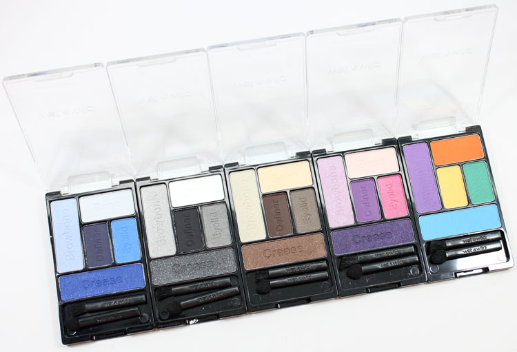 Wet n Wild Coloricon 5-Pan Eyeshadow Palette: The Naked