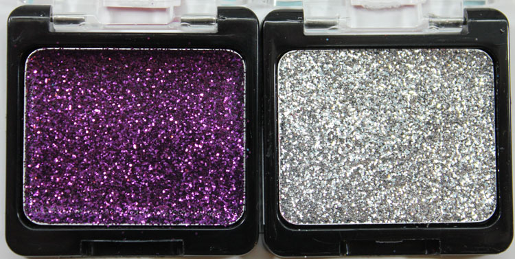 Wet n Wild Color Icon Eyeshadow Glitter Singles in Binge and Spiked