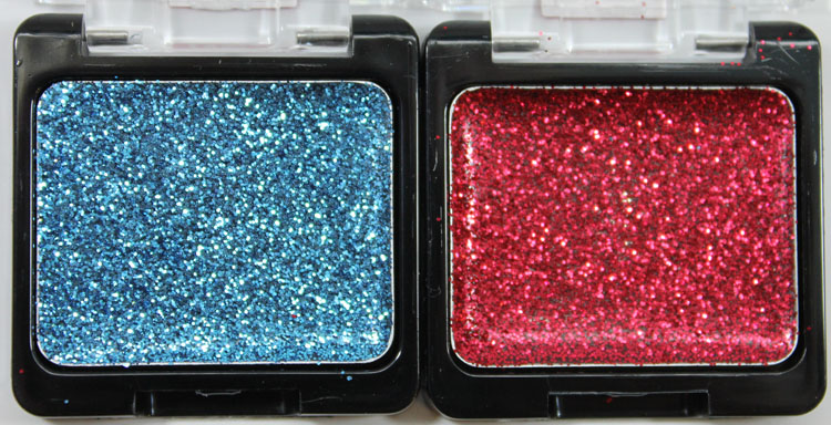 Wet n Wild Color Icon Eyeshadow Glitter Singles in Distortion and Vices
