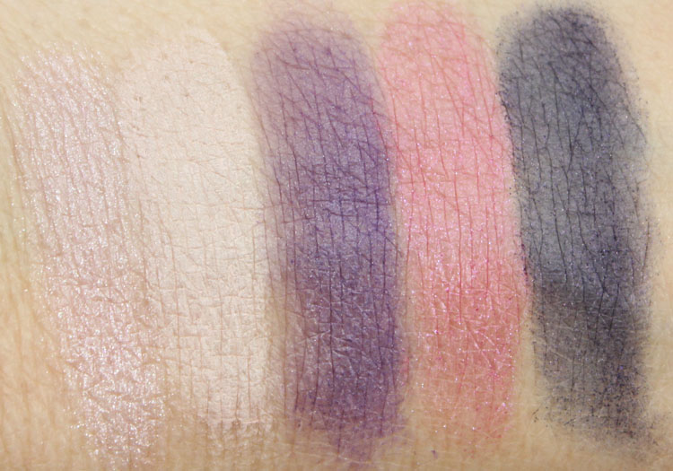 Wet n Wild Color Icon Eyeshadow Palette Floral Values Swatches