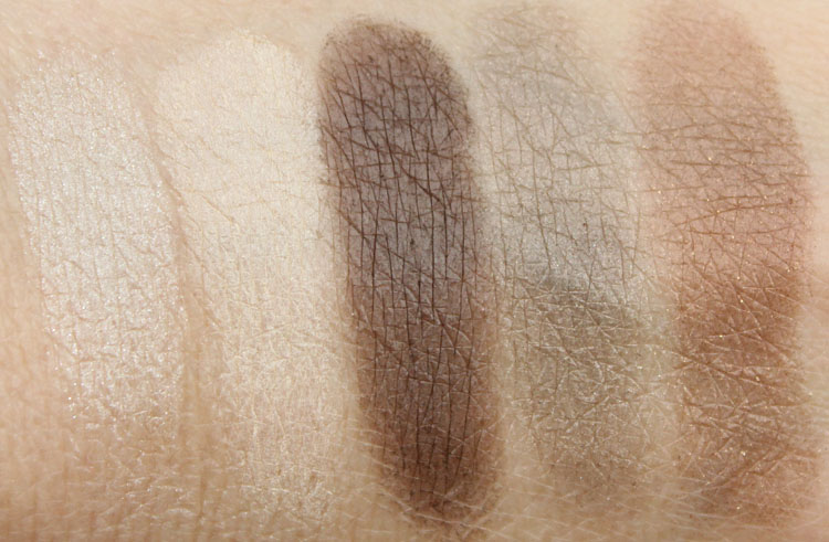 Wet n Wild Color Icon Eyeshadow Palette The Naked Truth Swatches