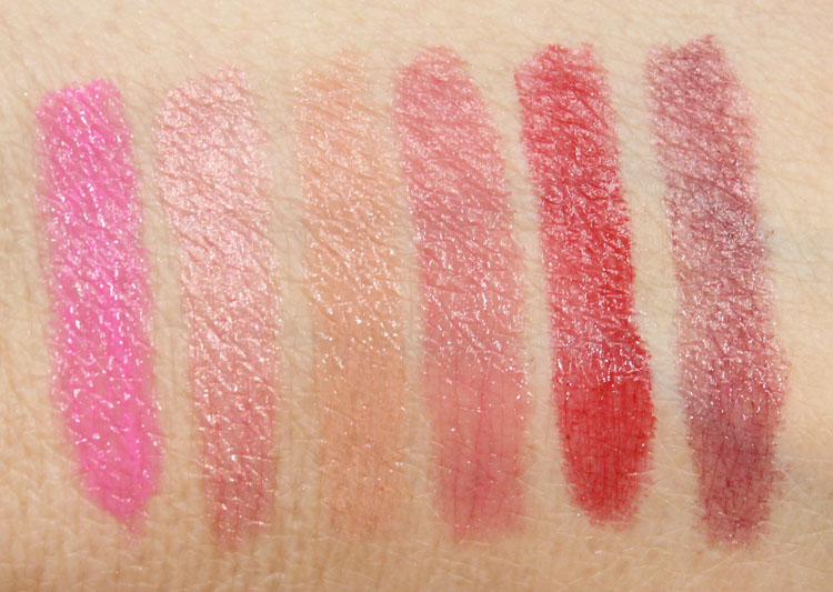 Wet n Wild Megaslicks Balm Stain Moisturizing Lip Colour Swatches