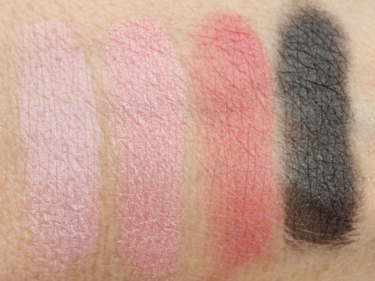 Wet n Wild Poster Child Swatches