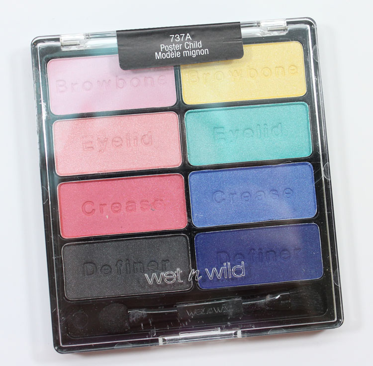 Wet n Wild Poster Child. Wet n Wild Color Icon 8-Pan Eyeshadow Palette ...