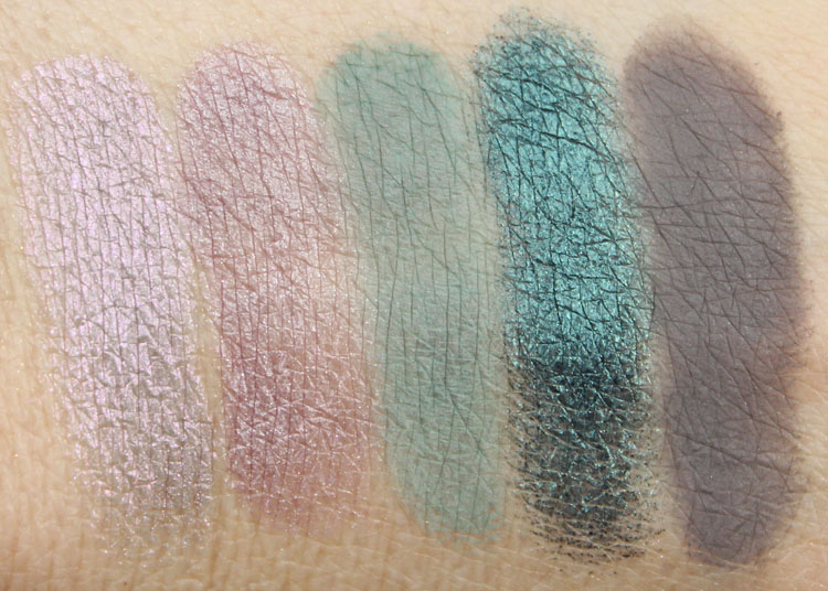 bareMinerals Degrees Of Dazzling Swatches-3