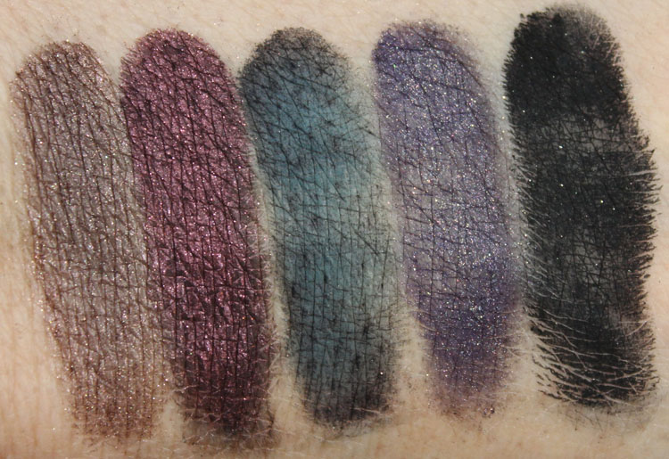 bareMinerals Degrees Of Dazzling Swatches-4