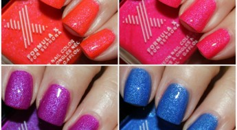 Formula X for Sephora Neon Nail Color  Collage