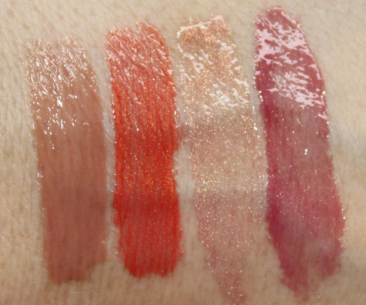 Milani Brilliant Shine Lip Gloss Bare Secret, Mai-Tai, Luminous, Mauve Fetish
