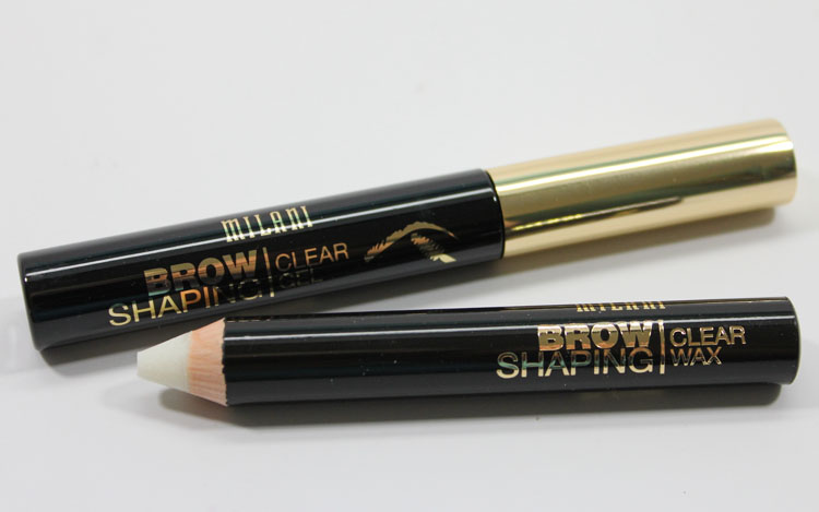 Milani Brow Shaping Clear Gel and Clear Wax