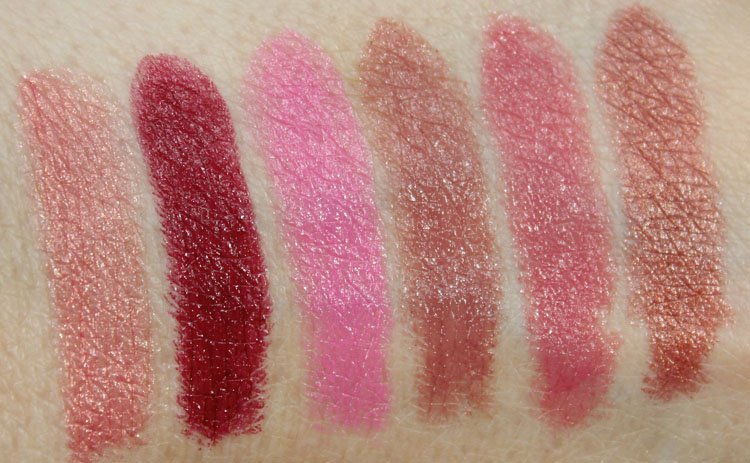 Milani Color Statement Lipstick 2014 Swatches