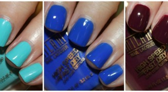 Milani High Speed Fast Dry Nail Lacquer 2014 Collection