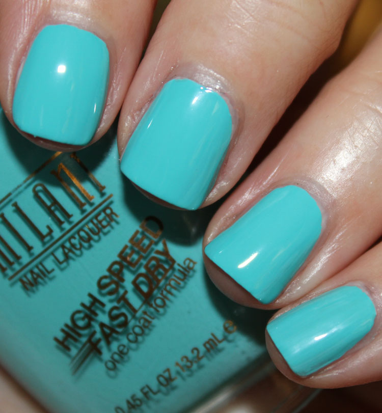 Milani High Speed Fast Dry Nail Lacquer Aqua Brisk
