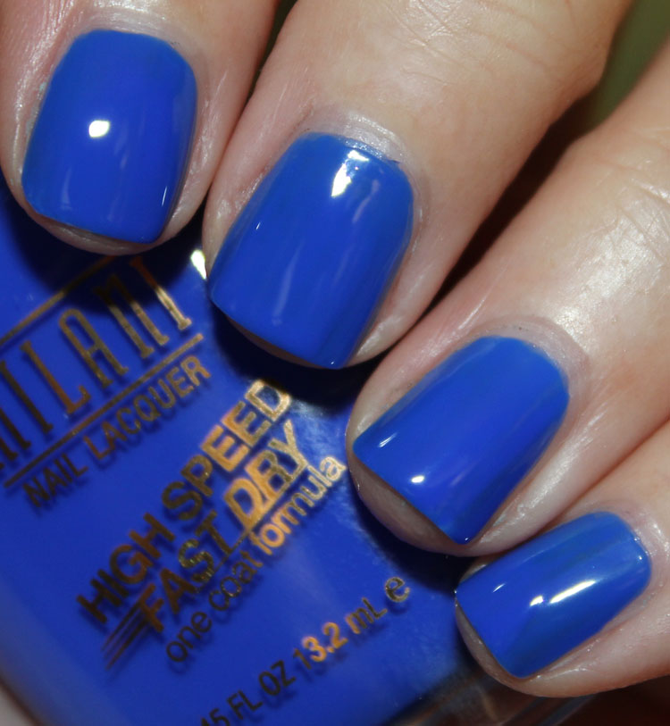 Milani High Speed Fast Dry Nail Lacquer Blue Zoom