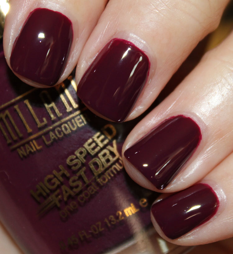 Milani High Speed Fast Dry Nail Lacquer Sangria Rush