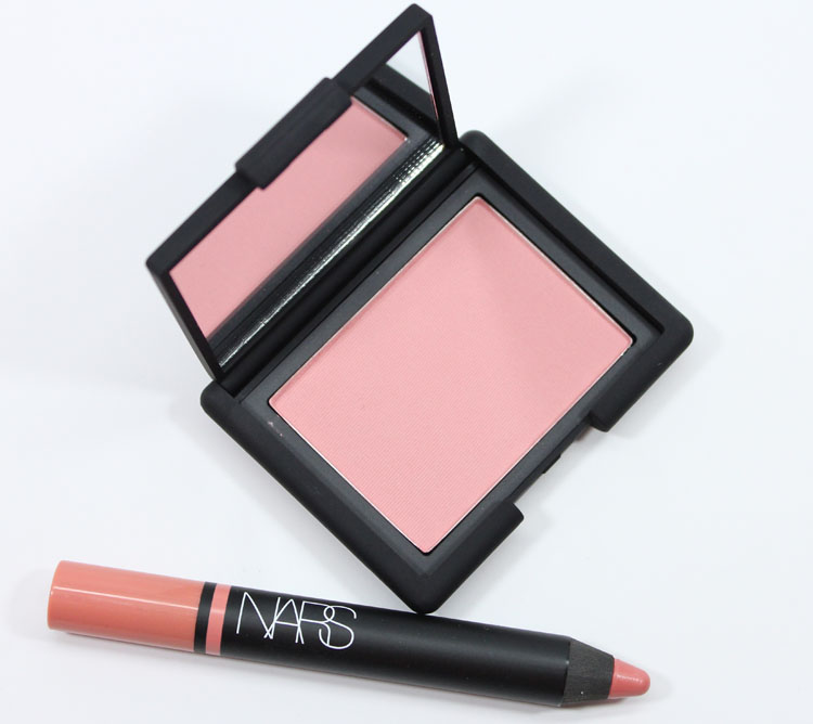 NARS Love Blush and Descanso Satin Lip Pencil