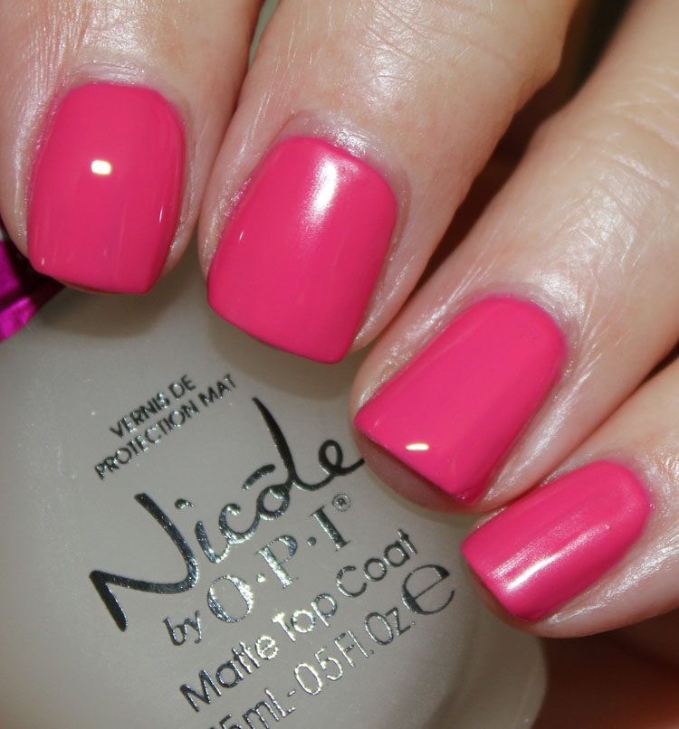 Nicole by OPI Matte Top Coat and Quick Dry Top Coat