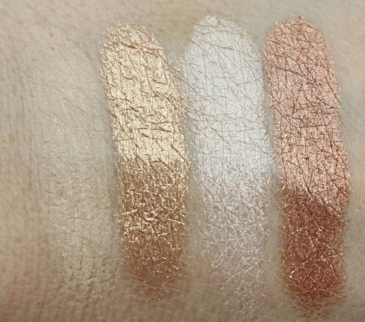 Urban Decay Naked2 Foxy, Half-Baked, Bootycall, Chopper