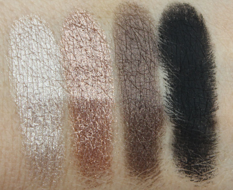 Urban Decay Naked2 Verve, YDK, Busted, Blackout