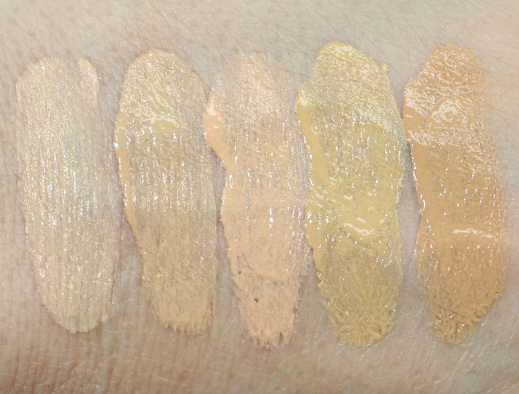 Buxom Show Some Skin Weightless Foundation Swatches