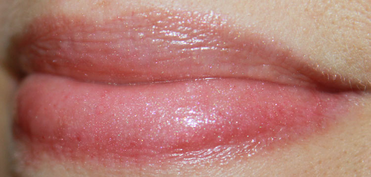LUSH The Kiss Lip Gloss Swatch