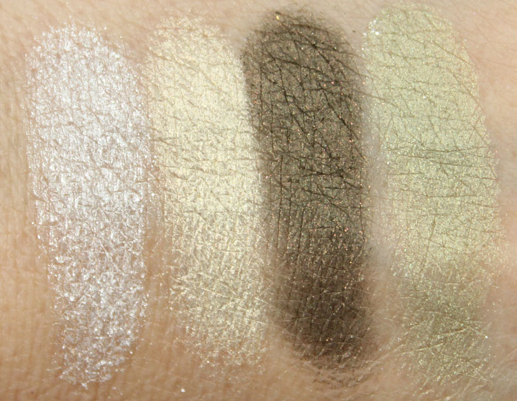 MAC In The Meadow Swatches