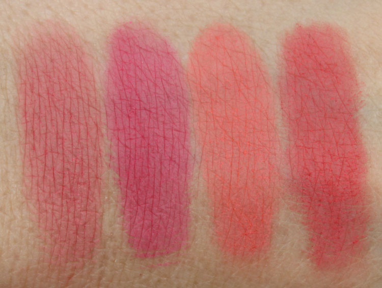 Milani Coming Up Roses Powder Blush Collection Swatches