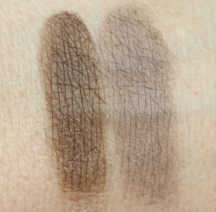NYX Eyebrow Cake Powder Taupe-Ash Swatches