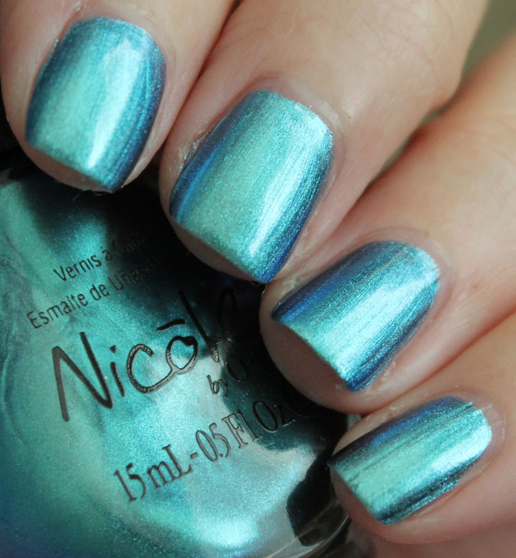 Nicole by OPI Emerald Empowered-2