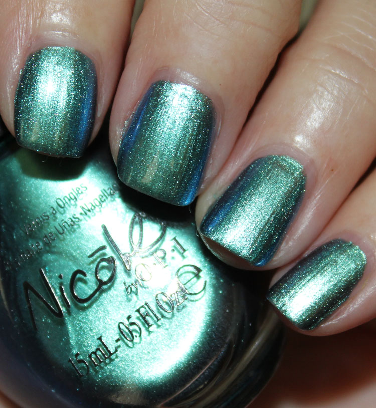 Nicole by OPI Emerald Empowered