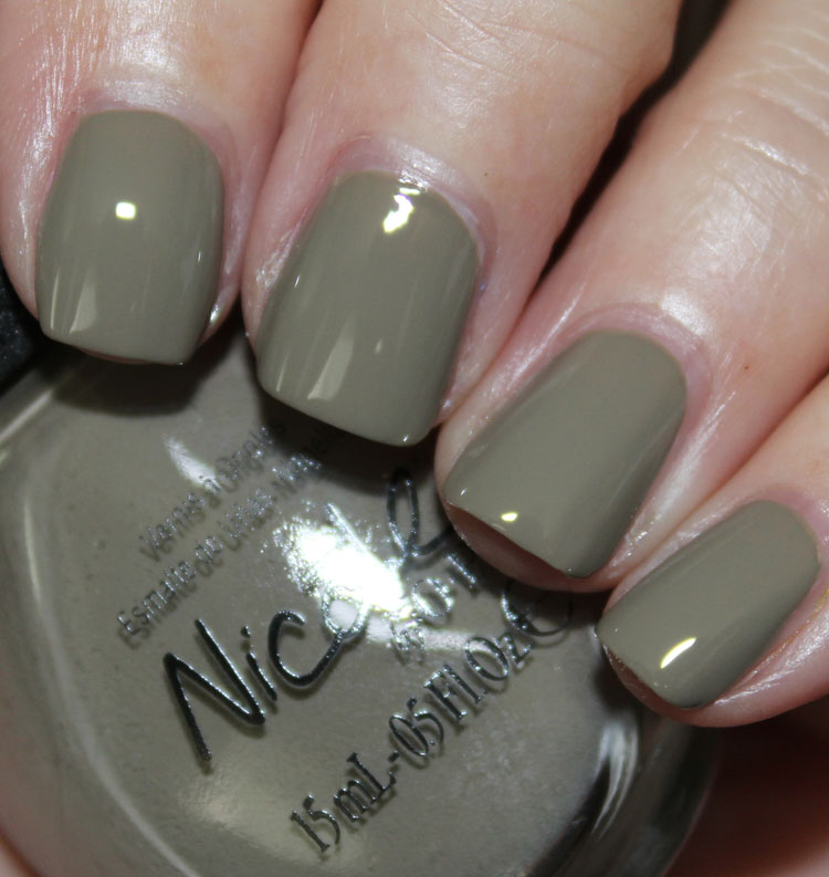 Nicole by OPI Taupe Of My Class