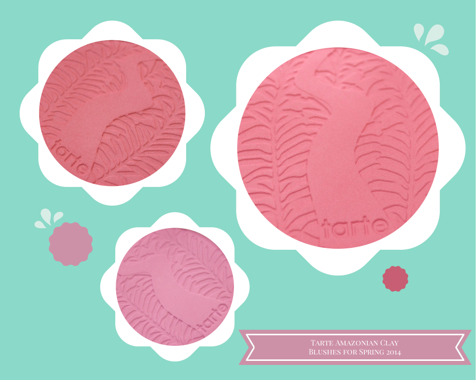 Tarte Amazonian Clay 12-Hour Blushes for Spring 2014