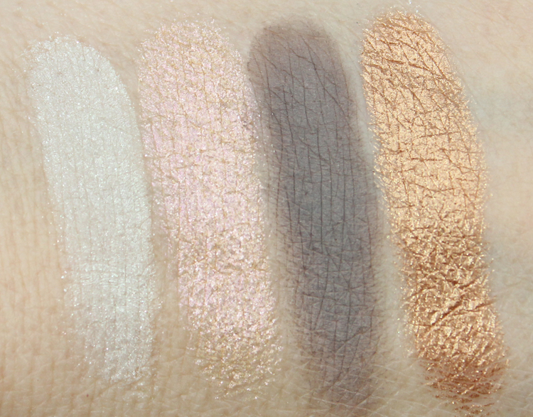 bareMinerals READY Eyeshadow 4.0 The True Romantic Swatches