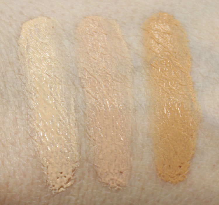 Benefit Big Easy Multi-Balancing Complexion Perfector Swatches