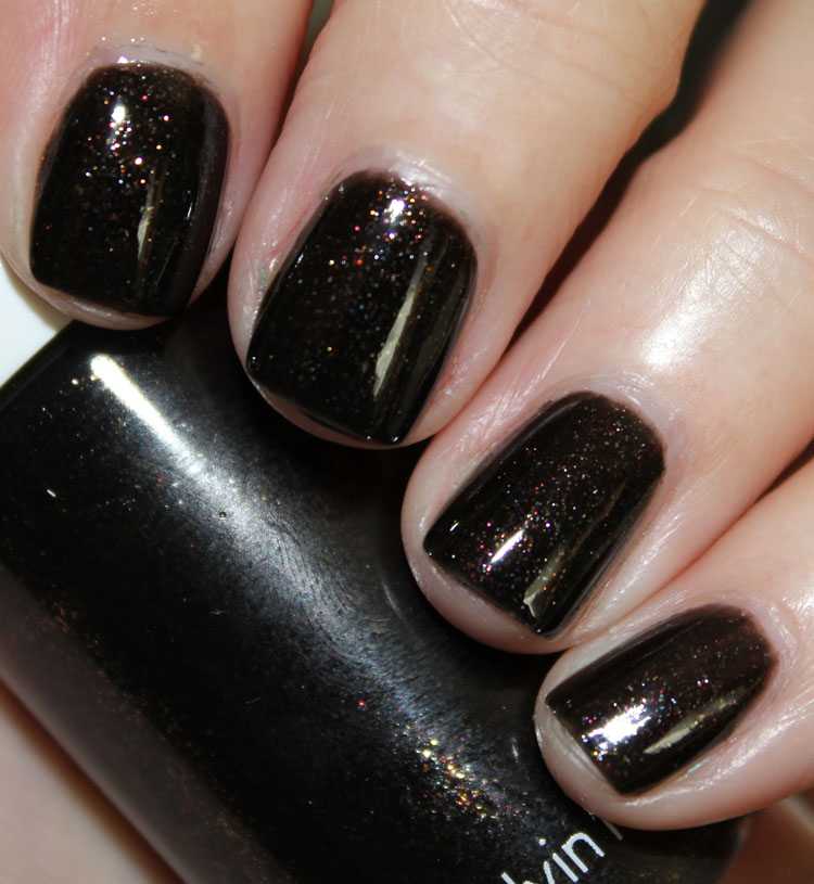 CK One Long Wear + Shine Nail Color Coal