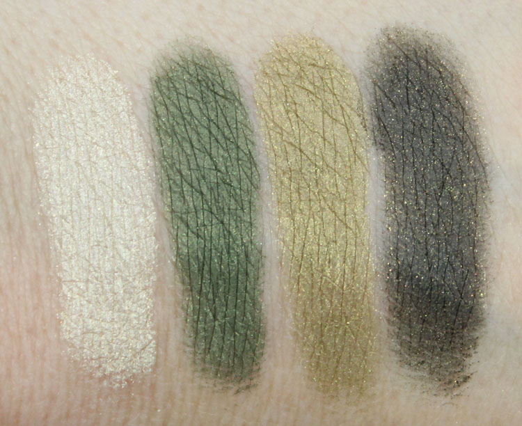 Clinique All About Shadow Quad On Safari Swatches