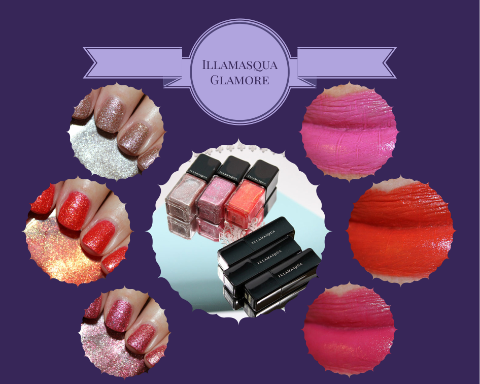 Illamasqua Glamore Collection for Spring 2014